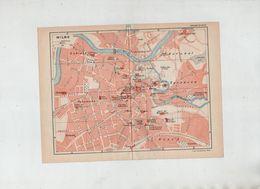 Plan Wilno  1939 - Vieux Papiers