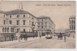 Cartolina - Padova - Corso Del Popolo - Stazione Ferroviaria - Padova (Padua)