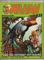RAHAN NOUVELLE COLLECTION N°23 BE 09/1981 Cheret Lecureux (BI4) - Rahan