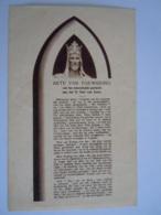 Akte Van Toewijding H.Hart Van Jezus Sacré-Coeur Prière Prentje Image Pieuse Holy Card Santini - Images Religieuses