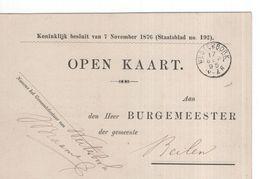 Westerbork - 17 SEP 1895 - Beilen - Nationale Militie - Postal History