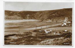 (RECTO / VERSO) NEWGALE EN 1955 - N° W. 4577 - Ed. VALENTINE & SONS - FORMAT CPA VOYAGEE - Pembrokeshire