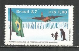 Brazil 1987 Year Mint Stamp MNH(**) Aviacion - Brazil