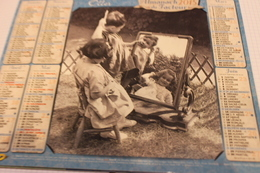 ALMANACH DU FACTEUR Calendrier Des Postes 2015, SOMME:  Jeunes Enfant Jouant,  Carton Souple, 2 Photos - Calendars
