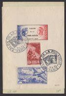 Carte Souvenir Avec Bloc Spécial CSNTP +vignette, Afrt 2Fr +3Fr Musée Postal Oblt CàDate Illustré SALON DE LA PHILATELIE - Storia Postale
