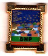 Pin's Roland Garros  7ème Open De Paris BNP Zamac Arthus Bertrand - Arthus Bertrand