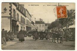 PONT L'ABBE Place Gambetta Marché Foire - Pont L'Abbe