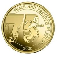 Belgie 2019  2,5 Euro Vrede - Paix Et Vrijheid - Liberté En Europe    Uit De Coincard - UNC Du Coincard  !!! - Bélgica