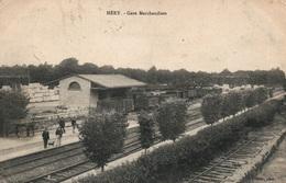 Méry-sur-Oise - La Gare De Marchandises 1916 - Photo Olivier - Stazioni Senza Treni