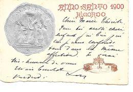 Italie / Italia - Anno Santo 1900 - RICORDO - Roma - G. Zauli A. Sparaci - Circulé - 2 Scans. - Andere