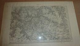 Carte Topographique Evreux SE 1889 (Eure) - Mapas Topográficas