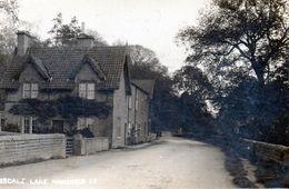 MANSFIELD     Véritable Photo De Debdale Lane  Transformée En Carte Postale - Inglaterra