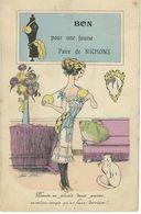 Illustrateur XAVIER SAGER - BON Pour Une Fausse Paire De Nichons - Cachet De La Poste 1912 - Sager, Xavier