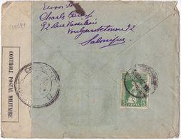 21084# GRECE LETTRE ARMEE D' ORIENT CENSURE MILITAIRE SALONIQUE 1917 Pour VERGIGNY YONNE WW1 - Guerra Del 1914-18