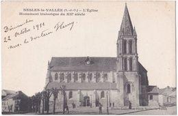 95. NESLES-LA-VALLEE. L'Eglise (B) - Nesles-la-Vallée
