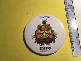 Foody 2015 Milano, Spilla Con Colori Vivi.Expo - Alimentation