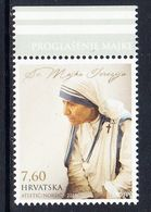 2016 Croatia Mother Teresa Complete Set Of 1 MNH @ BELOW FACE VALUE - Kroatië