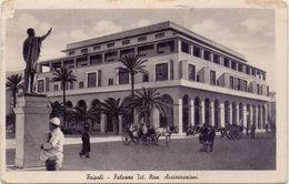 1937 Cartolina Da TRIPOLI Palazzo INA Per Floridia( SR )  - CT - Tripolitaine