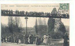 2020 - 06 - SEINE - 75 - PARIS - 19ème Arrondissement - Buttes Chaumont - Bords Du Lac Et Pons Suspendu - 125 - Arrondissement: 19