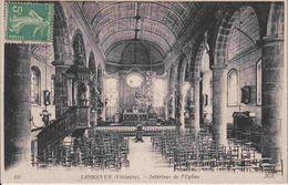 29 LESNEVEN Intérieur De L'église - Lesneven