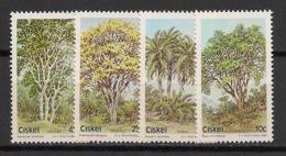 Ciskei - 1984 - N°Yv. 52 à 55 - Arbres / Trees - Neuf Luxe ** / MNH / Postfrisch - Ciskei