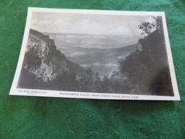 VINTAGE AUSTRALIA: NSW Leura Burragarong Valley From Gordon Falls B&w Rose - Other
