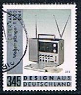 Allemagne Fédérale - Radio Braun T 1000 Par Dieter Rams 3178 (année 2018) Oblit. - [7] Federal Republic