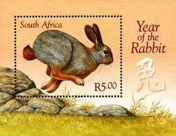 South Africa - 1999 Year Of The Rabbit MS (**) # SG 1111 , Mi Block 73 - South Africa (1961-...)