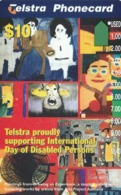 Australia, A966313a, International Year Of The Disabled, 2 Scans. - Australie