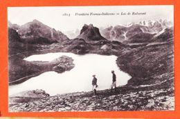 Nw928  Lac De RUBURENT 73-Savoie Lac De RUBURENT Frontière Franco-Italienne Laghi ROBURENT Argentera 1910s REYNAUD 1803 - Sonstige Gemeinden