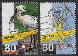 NVPH 1811-1812 - 1999 - Vogels - Lepelaar - 100 Jar Vogelbescherming - 1980-... (Beatrix)