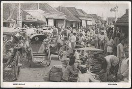 Indonesia - Surabaja (Surabaya), Ditepi Basar  1955 - Indonesië