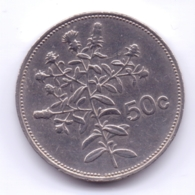 MALTA 1986: 50 Cents, KM 81 - Malta