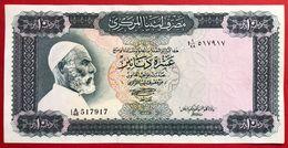 N°87 BILLET DE BANQUE 10 DINARS LIBYE 1972 - Libyen