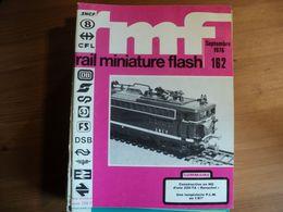 RAIL MINIATURE FLASH N°162 DE SEPTEMBRE 1976 CONSTRUCTION EN H0 D UNE 220 TA RAVACHOL / UNE LAMPISTERIE PLM AU 1/87°... - Trains