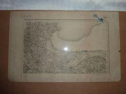Carte Topographique N° 60 Dinan - Rade De Cancale Type 1889 - Mapas Topográficas