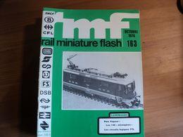RAIL MINIATURE FLASH N°163 D OCTOBRE 1976 LES 140 ETRANGERES / LES CIRCUITS LOGIQUES TTL / ROCO / LIMA / CONSTRUCTION D - Trains