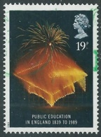 1989 GRAN BRETAGNA USATO ANNIVERSARI DIVERSI 19d - CZ1-2 - Used Stamps