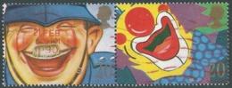 1990 GRAN BRETAGNA USATO I SORRISI 20d - CZ1-10 - Used Stamps