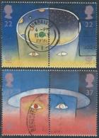 1991 GRAN BRETAGNA USATO EUROPA - CZ3-3 - Usati