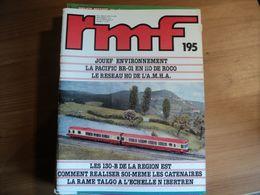 RAIL MINIATURE FLASH N°195 DE SEPTEMBRE 1979 JOUEF ENVIRONNEMENT / LA PACIFIC BR 01 EN H0 DE ROCO / LE RESEAU H0 DE L A - Trains