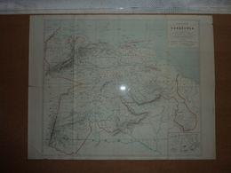 Carte Topographique Vénézuéla Aministrative Par F. Bianconi - Cartes Topographiques