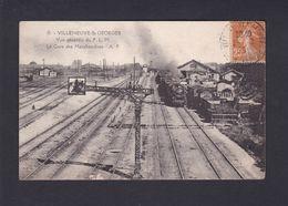 Vente Immediate Villeneuve St Saint Georges (94) Vue Generale Du P.L.M. PLM Gare Des Marchandises ( Train  42302) - Villeneuve Saint Georges