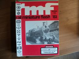 RAIL MINIATURE FLASH N°153 DE NOVEMBRE 1975 CONSTRUCTION EN H0 D UNE 2D2 5538 / PIKO / ARNOLD / MARKLIN / LE SILVER VAL - Trains
