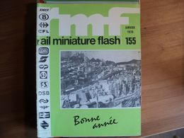 RAIL MINIATURE FLASH N°155 DE JANVIER 1976 PIKO / ARNOLD / MARKLIN / TRANSFORMATION D UNE BB 9201 ARNOLD RAPIDO EN BB 2 - Trains