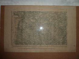 Carte Topographique D'état Major 1847 De St Lô SE - Mapas Topográficas