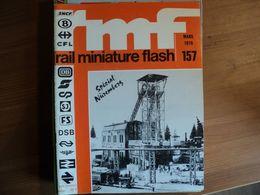 RAIL MINIATURE FLASH N°157 DE MARS 1976 FLEISCHMANN / FULGUREX / JOUEF / LILIPUT / LIMA / MARKLIN / METROPOLITAN / RIVA - Trains