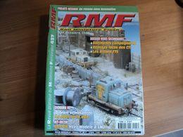 REVUE DU MODELISME FERROVIAIRE N°427 D OCTOBRE 2000. UN RESEAU SANS LOCOMOTIVE... BATIMENTS COMPAGNARDS / REMISES LOCOS - Trains