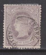 1866 ISABEL II 20 CUARTOS USADO JEREZ. 125 €. VER - Nuevos