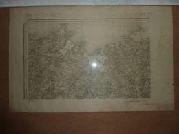 Carte Topographique N° 60 Dinan Type 1889 - Cartes Topographiques